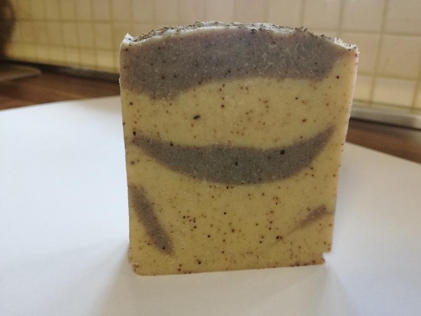 Zöldagyagos kecsketejes szappan