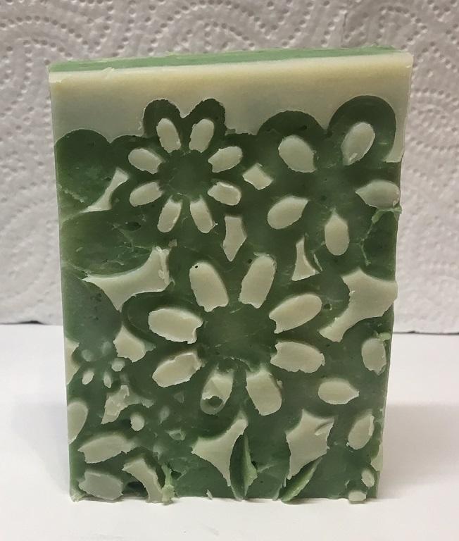 Zöldteás-jázminos szappan