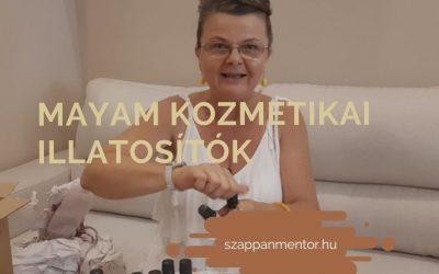 Kozmetikai illatosítók szappankészítéshez